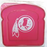 Washington Redskins Sandwich Box, Contoured